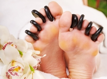 Hot Stone Pedicure -Nails by Anna mobile spa
