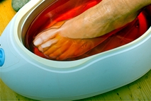 Paraffin Cozy Pedicure - Nails by Anna mobile spa