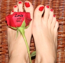 Shellac pedicure - Nails by Anna mobile spa