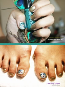 Customize your nail treatment - Nails by Anna mobile spa