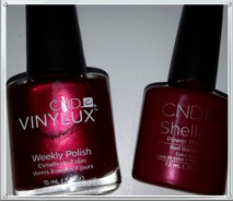 Shellac mani + Vinylux pedi -nails by anna mobile spa